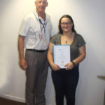 Congratulations to our first school based trainee, Chelsea!