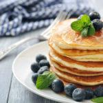 Buckwheat Pancakes with Fresh Fruit