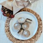 Fig & coconut mini cheesecakes