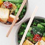 Mixed Mushroom Noodle Bowl