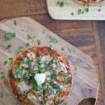 Cheesy gluten free vegan margherita pizza