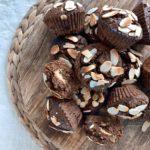 Banana, Choc and Almond Muffins