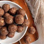 Almond Butter Cacao Energy Balls