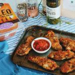 Crispy Pesto Chicken Strips