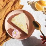 Lemon Vegan Cheesecake