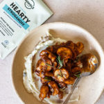Classic Mushroom Stroganoff and Mashed Potato