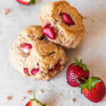 Vegan Strawberry Scones
