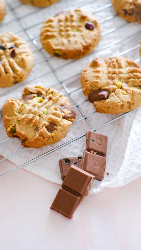 Loving Earth choc chip cookie recipe